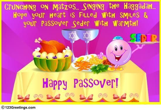 Seder filled with smiles passover jewish seder greetings wish your friends family dear ones a joyous seder with this cute ecard free online seder filled with smiles ecards on passover m4hsunfo