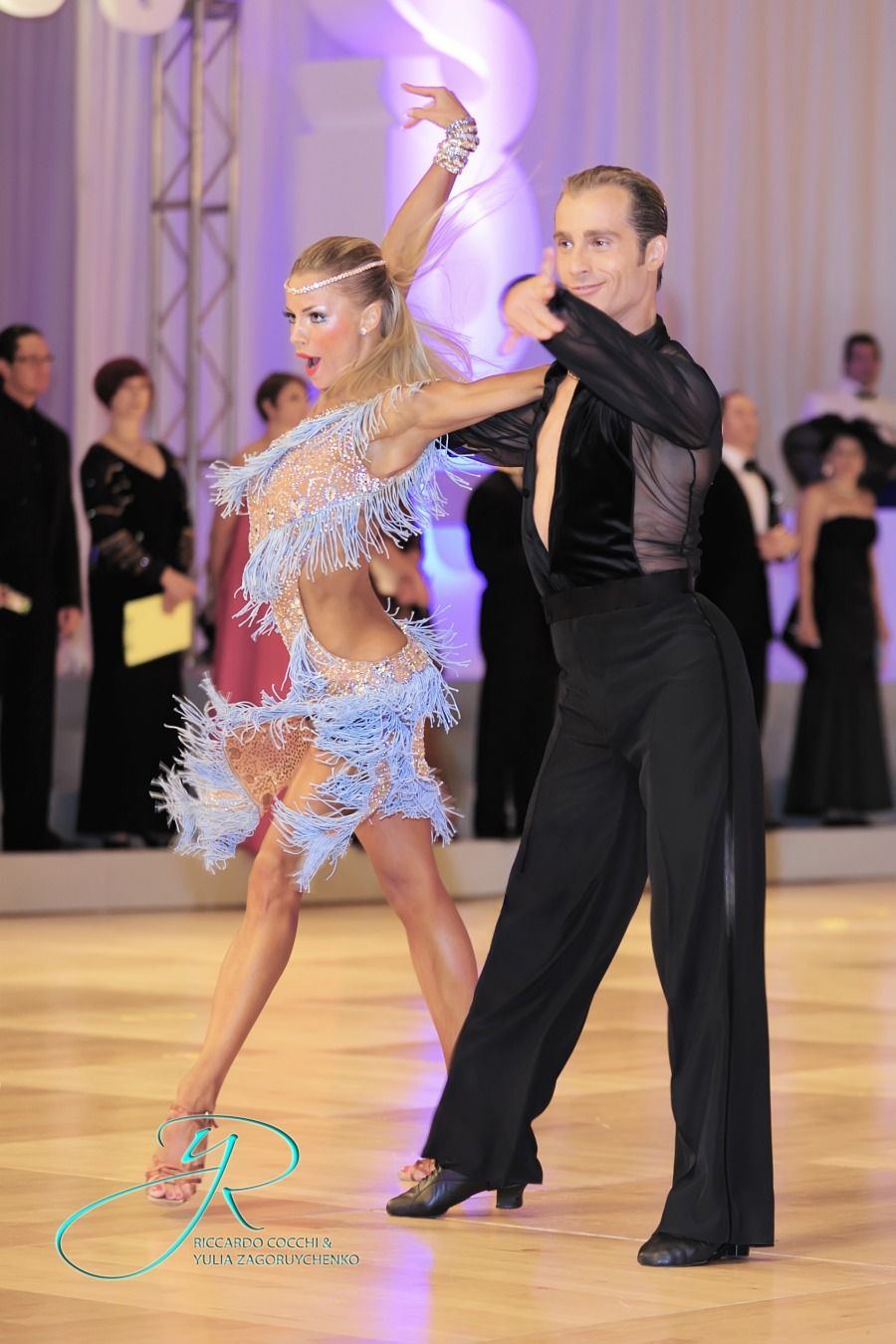 Salsa Bachata Or Latin Dance Dress   Worn By Yulia Zagoruychenko, Latin  Dress, Fashion, Latin, Spanish, Vibrant, Inspiration, Latin Dance