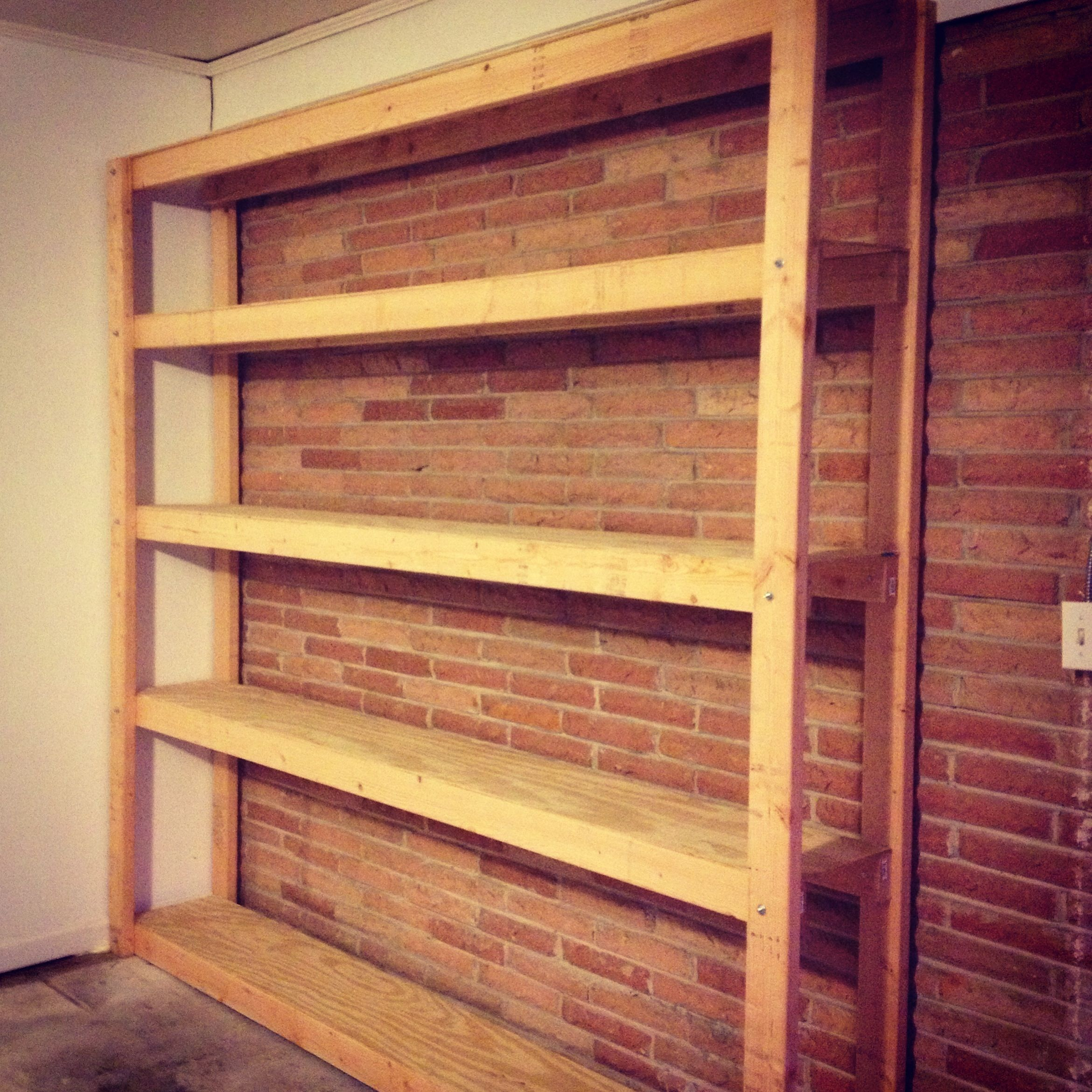 Diy Storage Shelves Basement Storage: This Would Make An Awesome Way To Store Homemade Soap