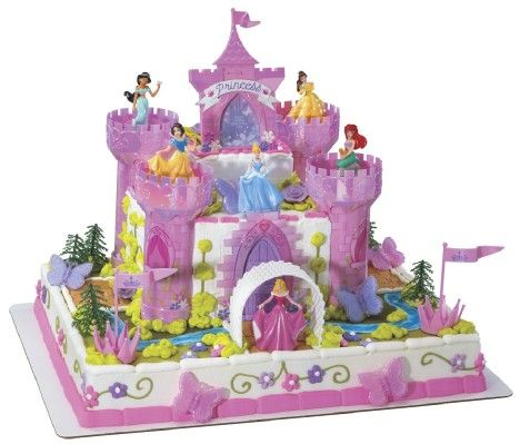 Disney Princess Super Sized Castle Cake Kit MonsterMarketplacecom