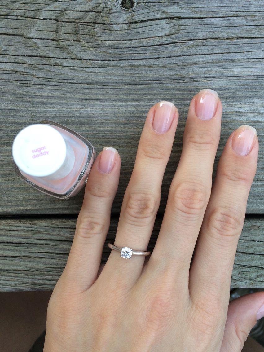 essie sugar daddy nails | pretty and polished | Pinterest | Pedi ...
