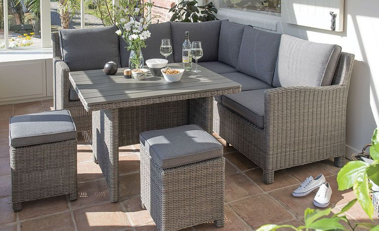 The Palma Mini Set is made from hand woven weatherproof ...