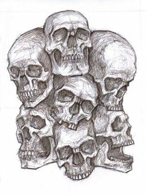 Out Of My Head Tattoo Design Zeichnungen Schadel Schadelzeichnungen Schadelkunst