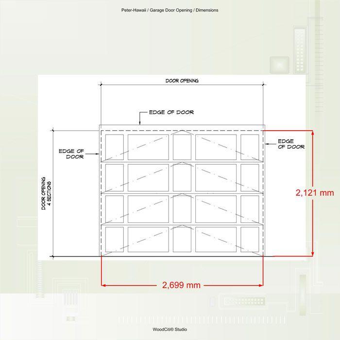 Charming Standard Garage Door Dimensions Canada Wageuzi