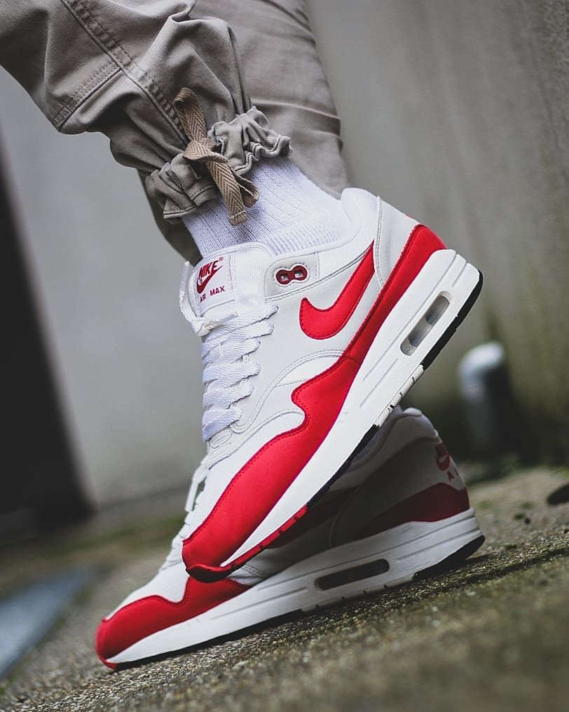 air max 1 og anniversary red