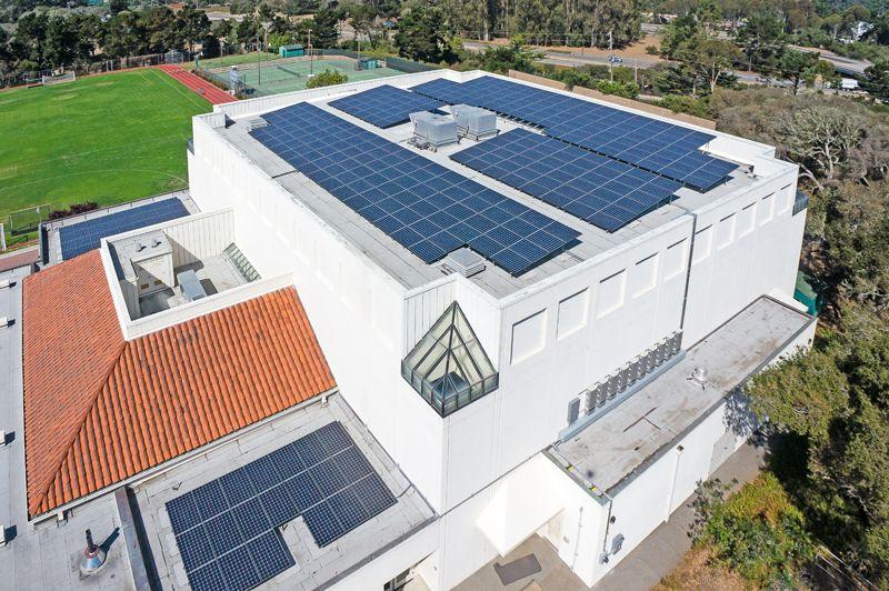 Santa Catalina School In Monterey Ca Solar Solar Design San Benito County
