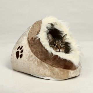 Welcome home gift for Swee'pea  Small Trixie Pet Minou Cushy Cave Bed | Overstock.com