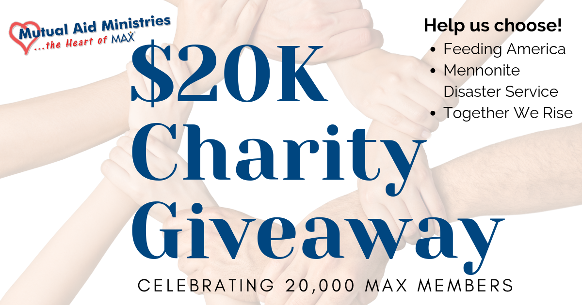 Max Mutual Aid Ministries 20k Charity Giveaway Service Learning Activities Mutual Foster Care Children
