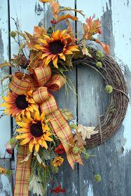 Sweet Something Designs: New Fall Wreaths!