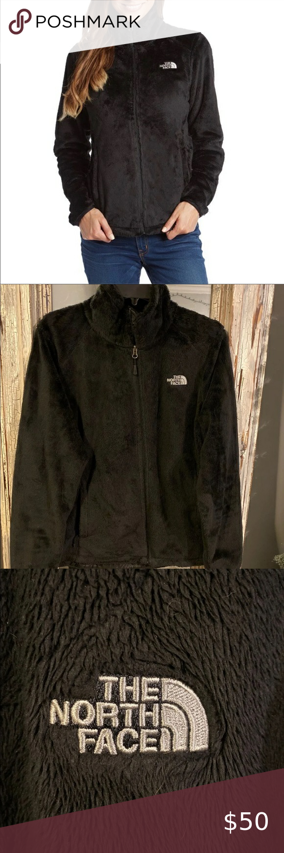 The North Face Women S Osito Jacket The North Face Women S Osito Jacket Black With White Lettering Like New Conditi North Face Women Black North Face Jackets [ 1740 x 580 Pixel ]