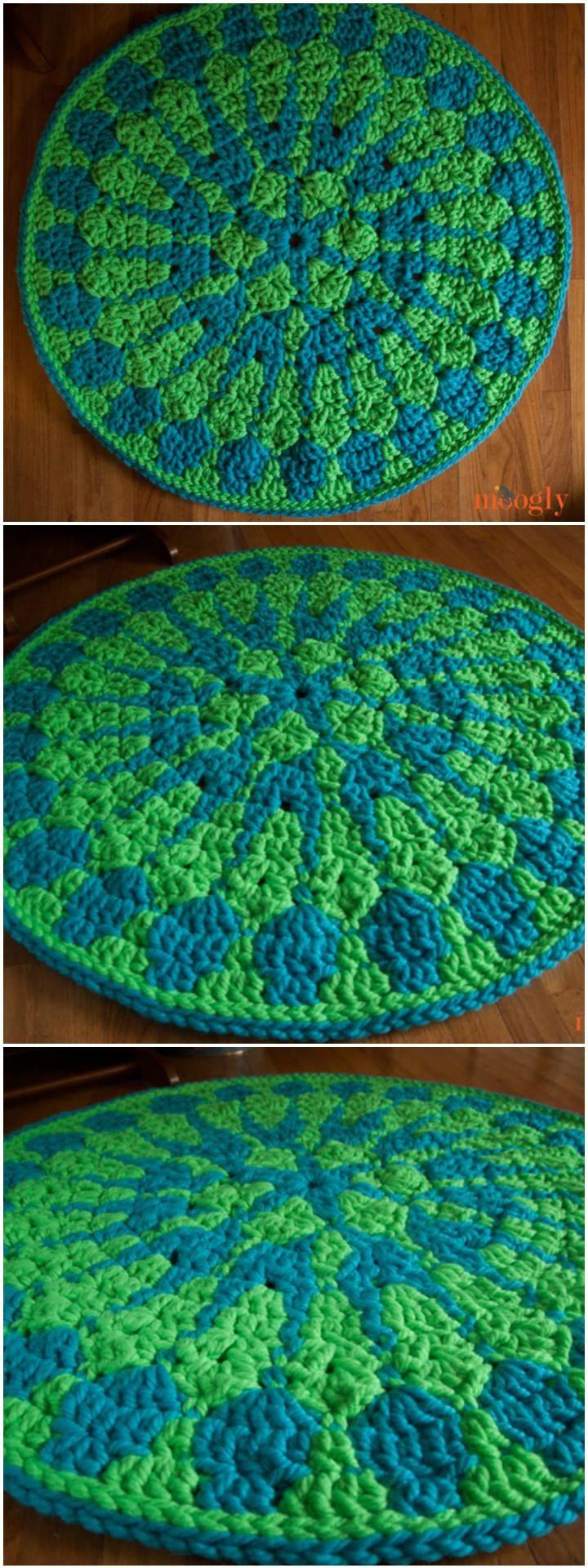 60+ Free Crochet Mandala Patterns - Page 5 of 12 | Mandalas y Ganchillo