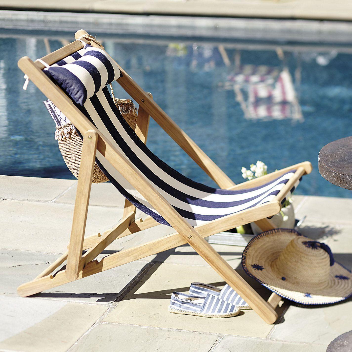 Classic Beach Chair Replacement Sling Ballard Designs Beach Chairs Folding Chair Ballard Designs