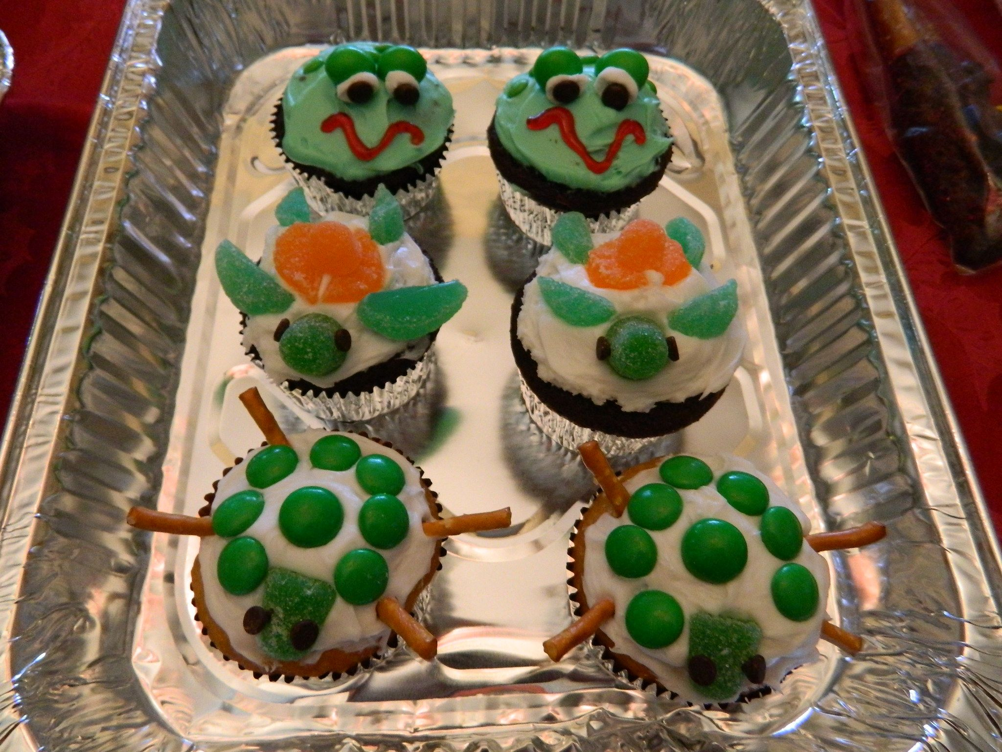 Here's My Version Of The Cupcakes I Have Repinned...note