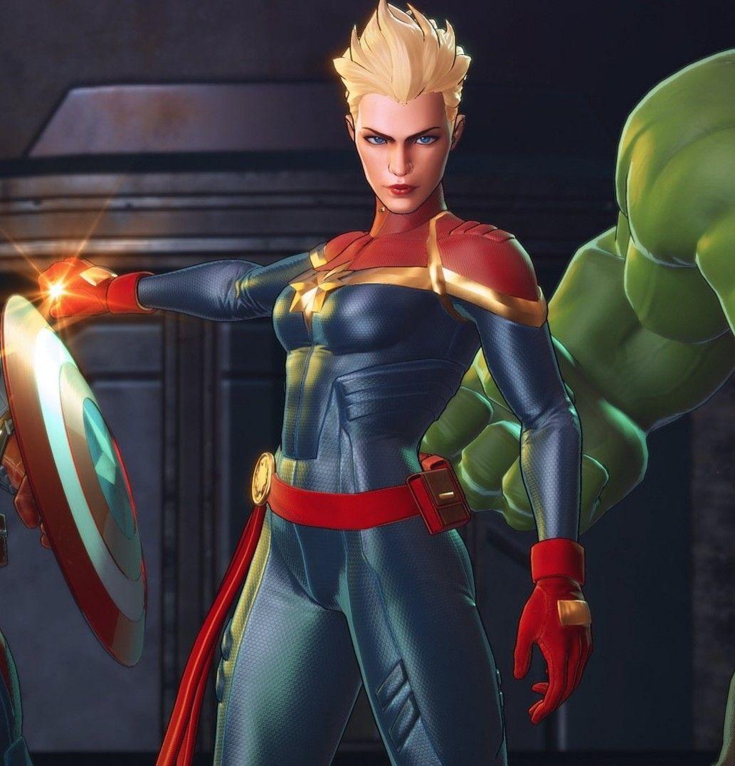 Captain Marvel In Ultimate Alliance 3 Marvel Ultimate Alliance