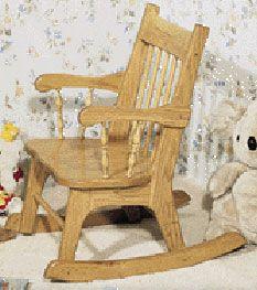 Children S Rocking Chair Plan Woodworking Inspiration