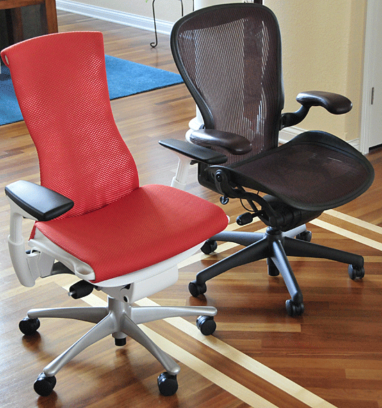 Chair Wars Herman Miller Embody Vs Aeron Fooyoh Entertainment