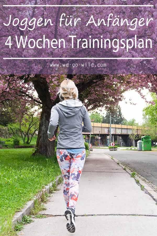 Laufen anfangen mit Trainingsplan: In 4 Wochen zum Läufer