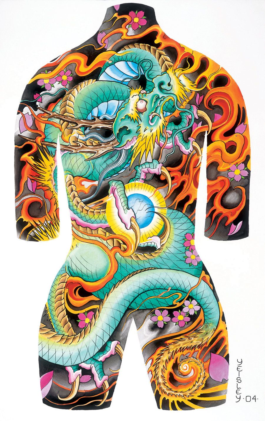 488ef86db2 japanese tattoo body suit drawing - Google Search