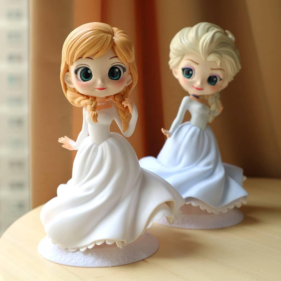 Banpresto Q Posket Qposket Disney Frozen Elsa Figure Normal