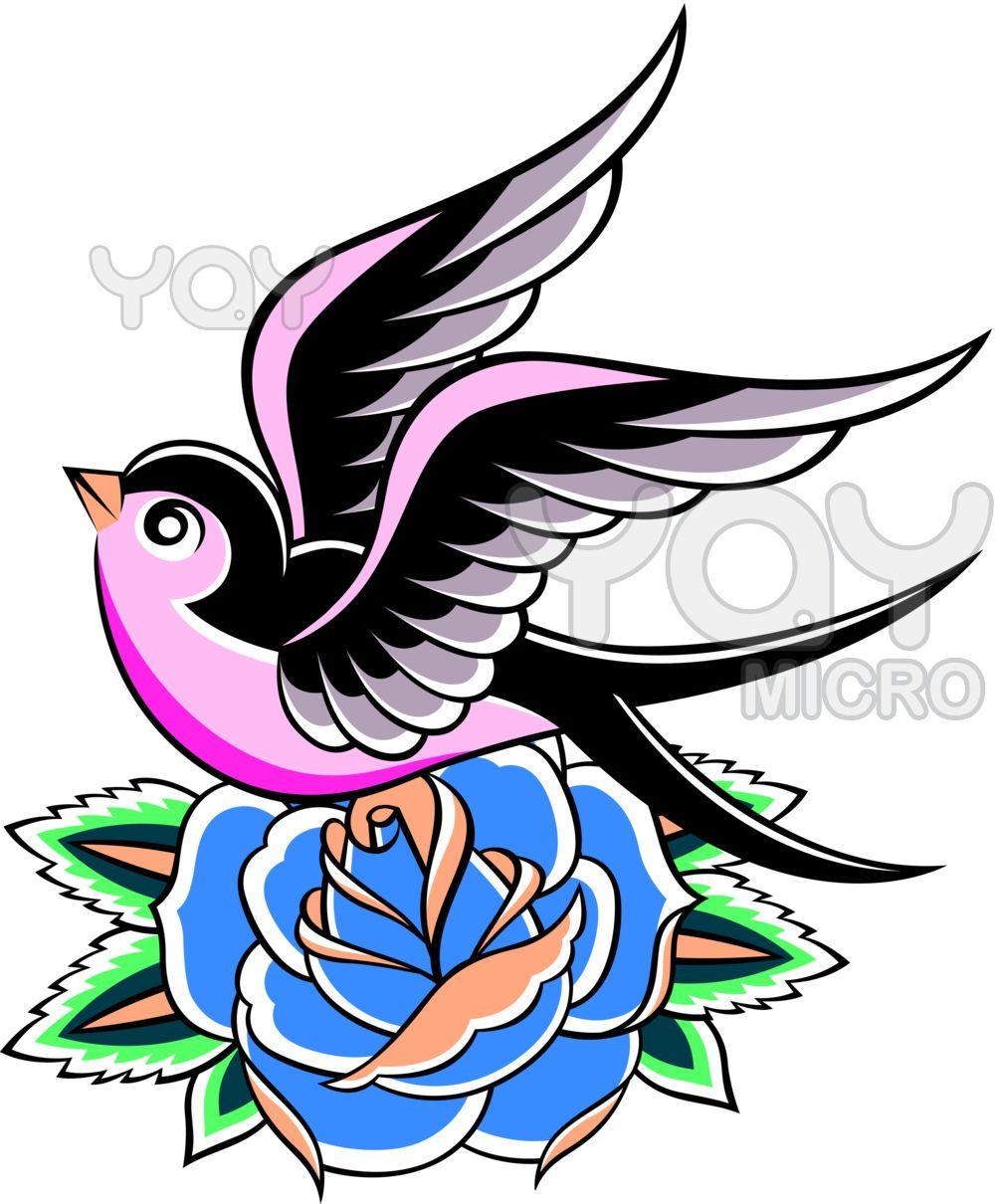 Birds Tattoos For You Swallow Bird Tattoo Swallow bird