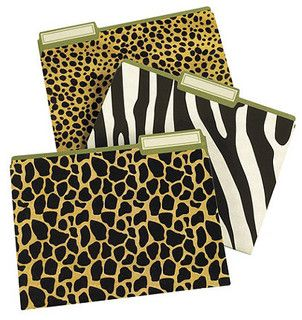 Good Animal Print File Folders   Eclectic   Desk Accessories   By Ballard  Designs Home Office Space