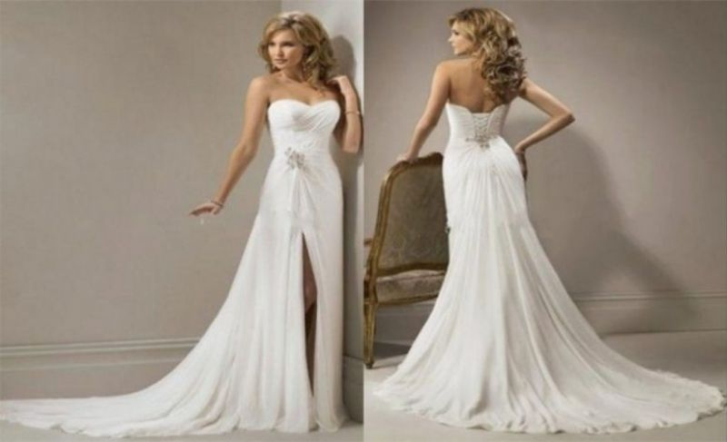 aa019759bff Gorgeous Wedding Dresses Not Puffy