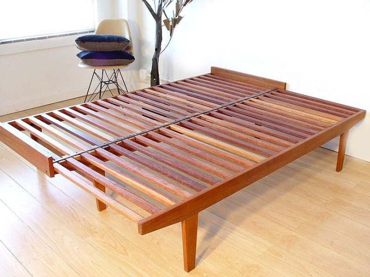 Danish Modern Daybed Open Sold Modern Daybed Diy Daybed