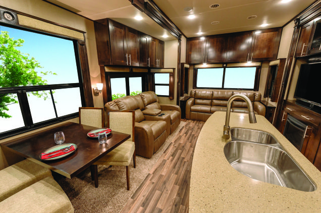 Vilano Fifth Wheel By Vanleigh Rv Fifth Wheel Home