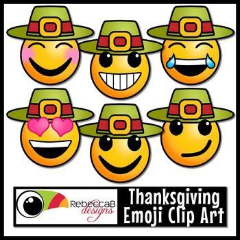 Thanksgiving Emoji Clip Art Clip Art Emoji Thanksgiving Clip Art
