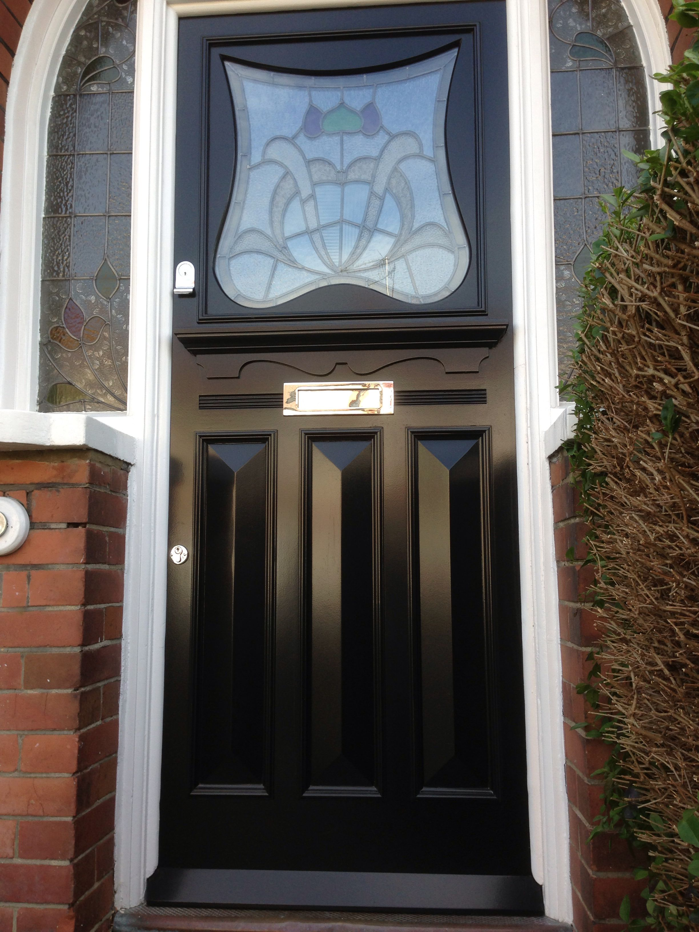 1930u0027s inspired entrance door fitted in Finchley London & 1930u0027s inspired entrance door fitted in Finchley London | 1930u0027s ... pezcame.com