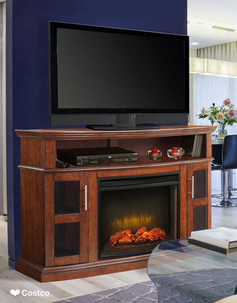 The Rochester Media Fireplace Combines Functionality With Fine