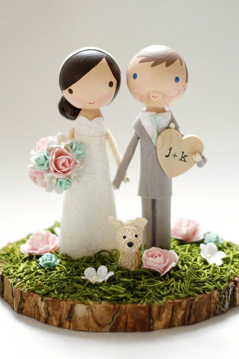 34 Unique Wedding Cake Toppers Pink Book Wedding Inspiration Unique Wedding Cakes Diy Cake Topper Wedding Cake Toppers Unique