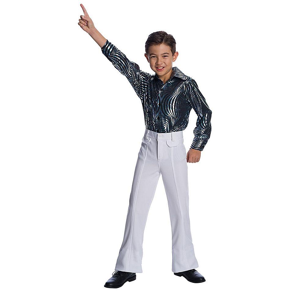 Psychedelic Swirl Disco X-Small Child's Halloween Costume Shirt