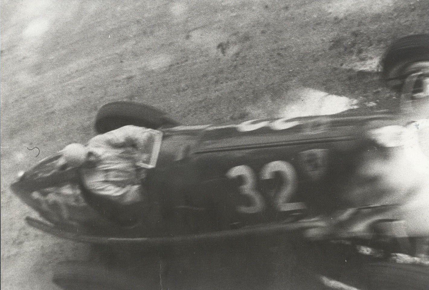 GP ITALIA 1937 , ALFA romeo 8C-35 #32 of Hans Ruesch