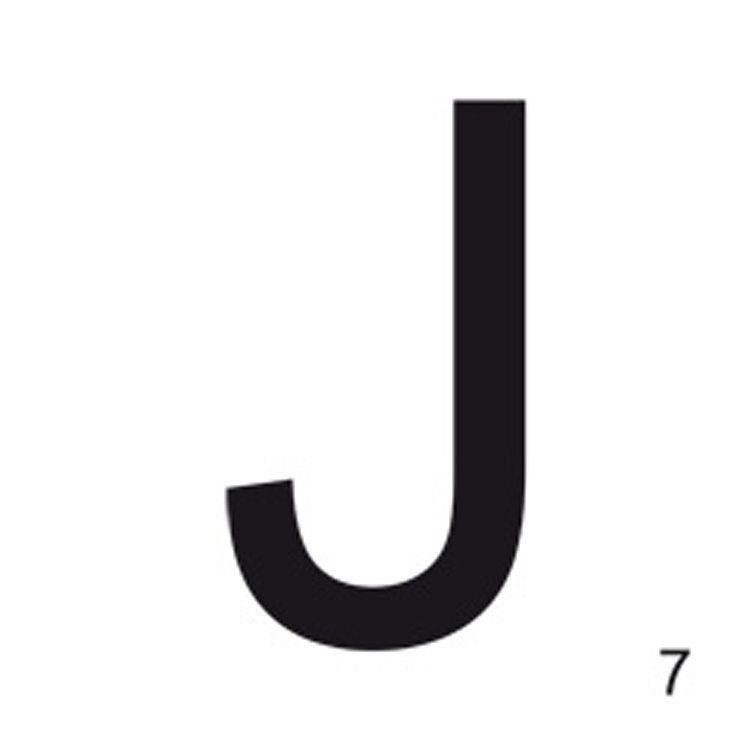 Letter J, 21x21 Wallstuff - Osta kalusteita verkossa osoitteessa ROOM21.fi