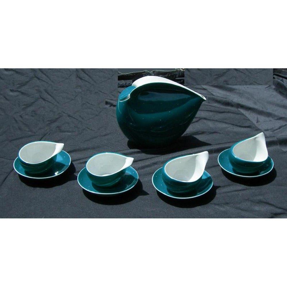 Fabulous Retro Cmielow Polish Porcelain Space Age Tea Set. $525.00 via Etsy.  sc 1 st  Pinterest & Fabulous Retro Cmielow Polish Porcelain Space Age Tea Set. $525.00 ...
