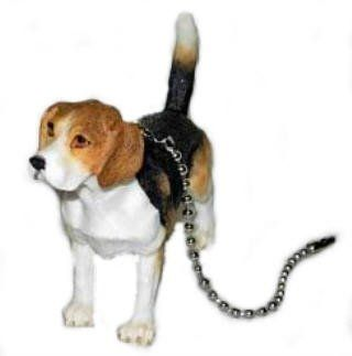 Beagle Puppy Dog Ceiling Fan Pull Light Home Decor New The Jwm