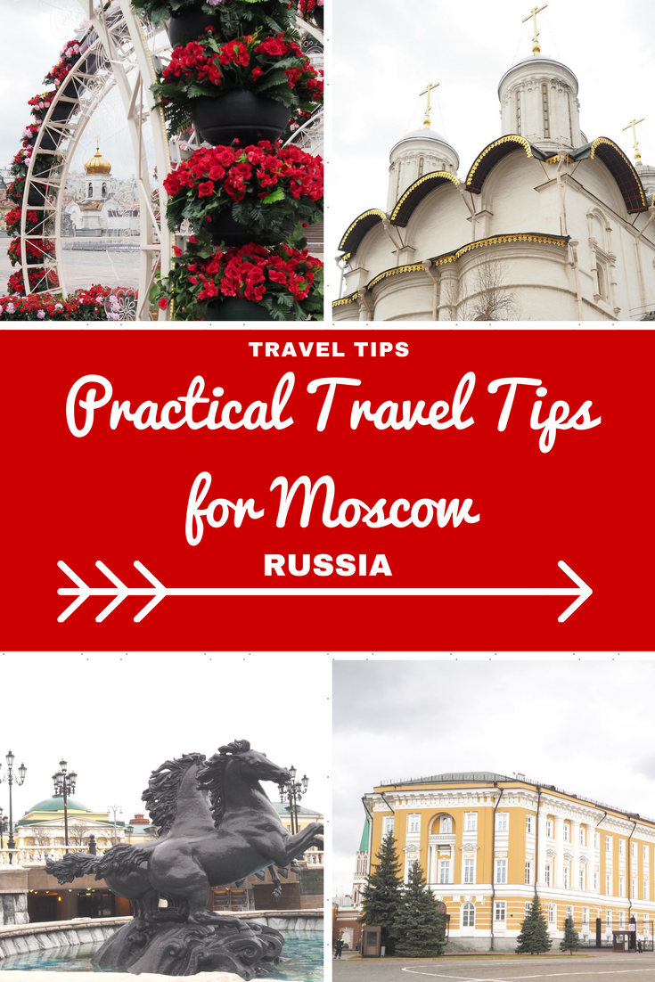 Russia Travel Inspiration - My very practical travel tips for Moscow including everything related to visas, airport transfers, pre-booking tickets, traffic conditions, gluten free food and how to get the best view of the architecture. The city is weird an