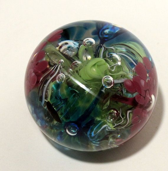 Handmade Glass-Paperweight by GirlCandyDesigns on Etsy