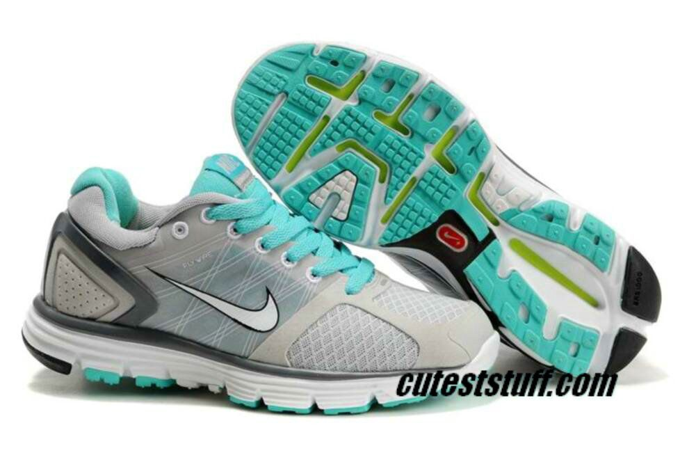 a456bf82536d Womens Nike Lunarglide 2 Gray Jade Shoes
