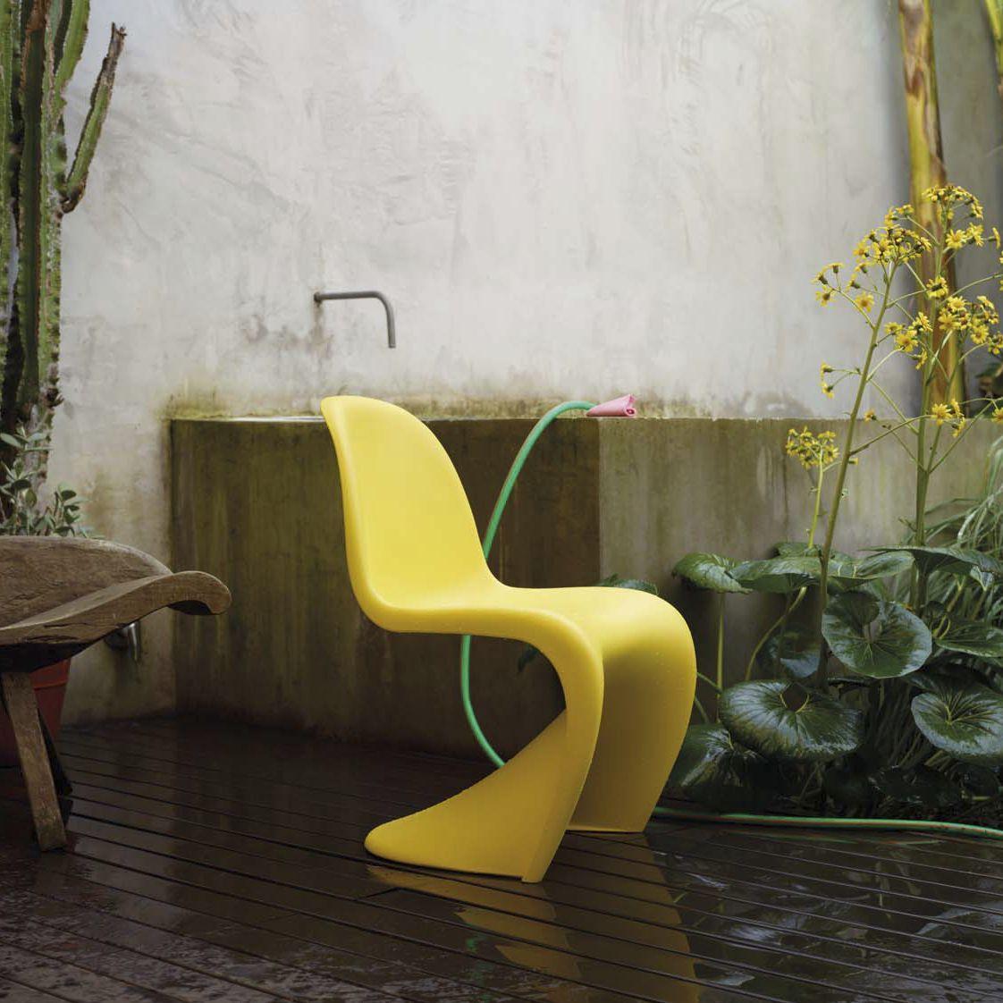 Original design chair polyurethane outdoor by verner