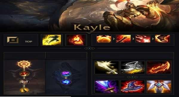 Kayle Ad Build