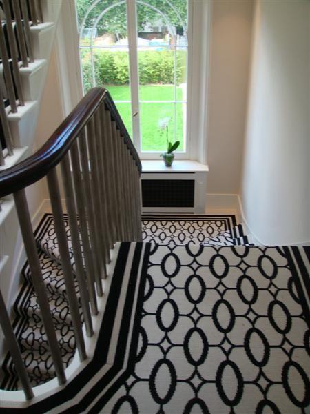 Merveilleux Stark Carpet Ellipse As A Stair Runner