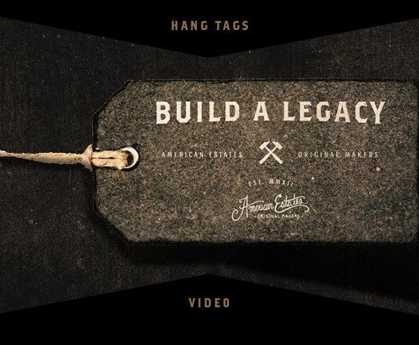 American Estates - Branding / Creative Direction by Jeremy Teff, via Behance