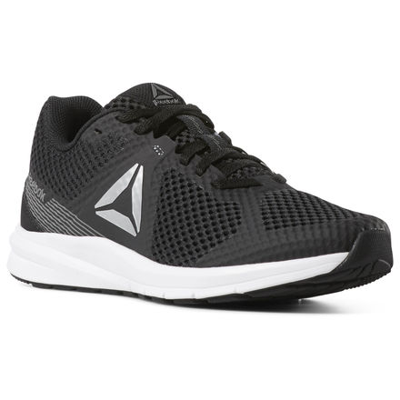 77cd7bd4ac5 Reebok Shoes Women s Endless Road in Black True Grey5r White Size ...