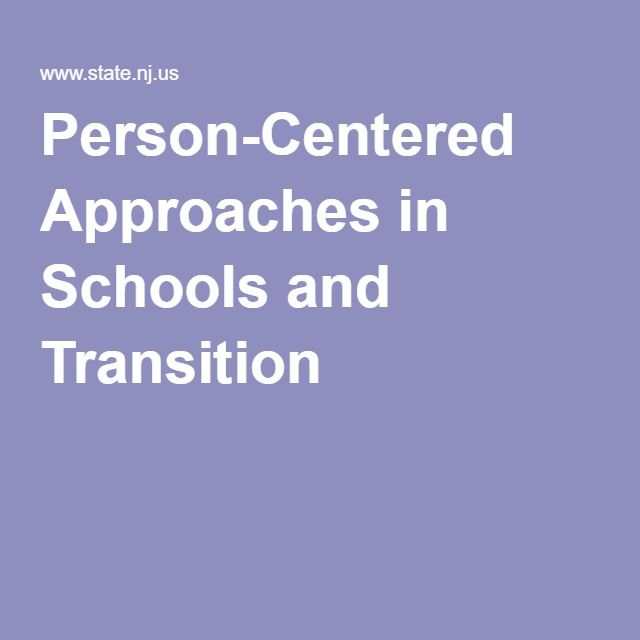 Person-Centered Approaches in Schools and Transition: NJDOE/Boggs Center Video 2016