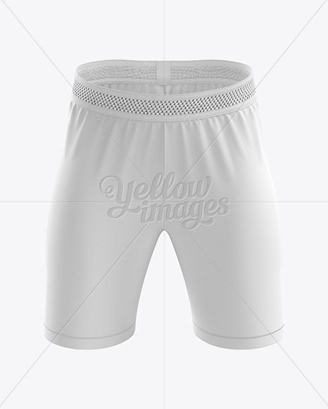 Download Men S Soccer Shorts Mockup Front View Clothing Mockup Soccer Shorts Mockup Free Psd