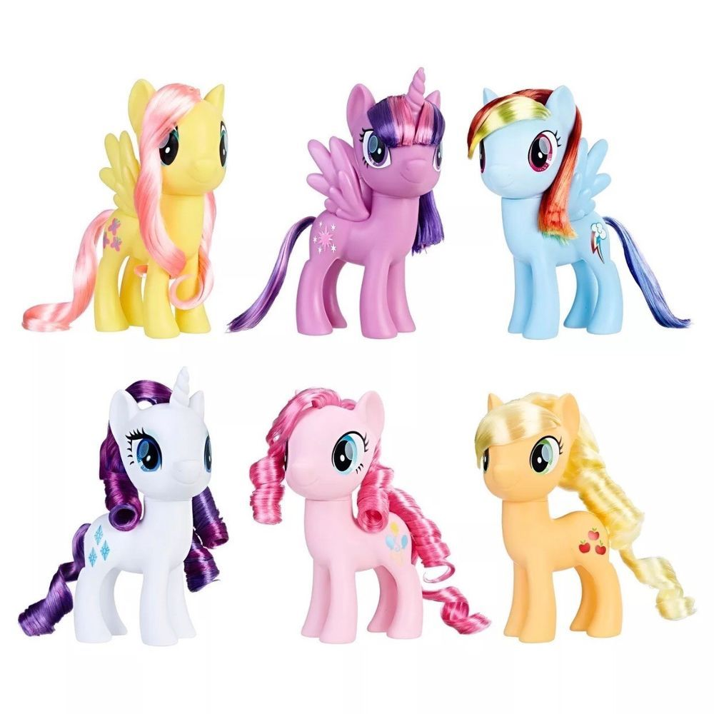 My Little Pony The Magic Of Everypony Collection 6 Ponies Set Of 6 Ebay My Little Pony Dolls My Little Pony Collection New My Little Pony