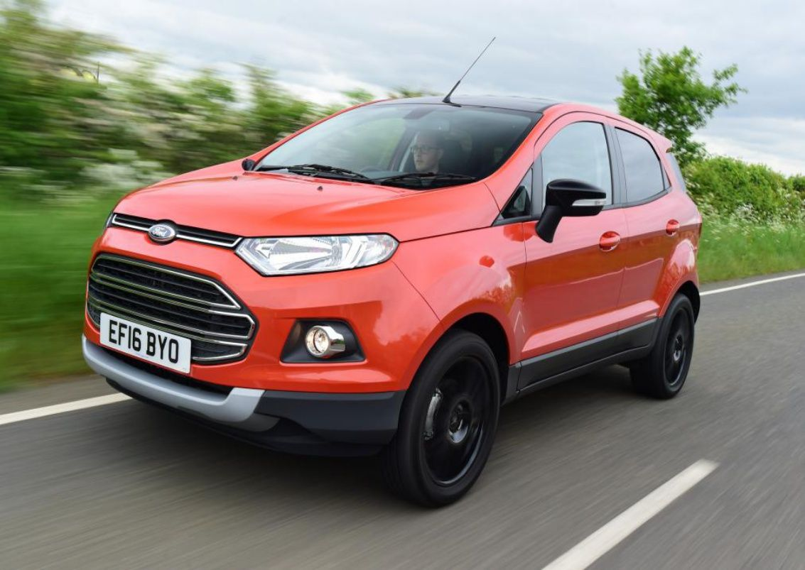 2017 ford ecosport changes