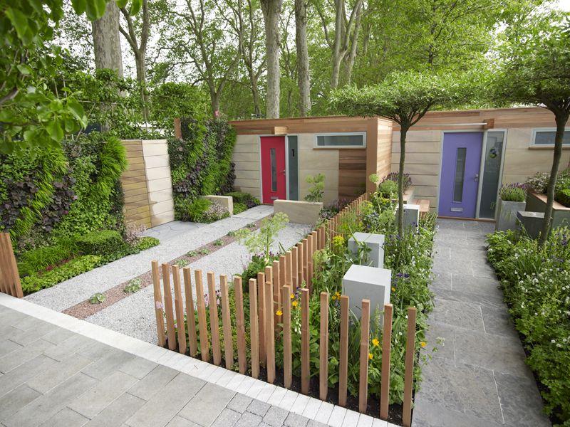 The Marshalls Living Street Front Gardens At Chelsea Flower Show 2009